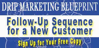 Free Drip Marketing Blueprint for New Customers